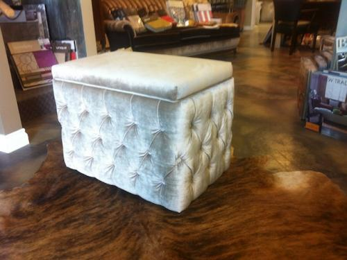 gray-silver-velvet-tufted-stool
